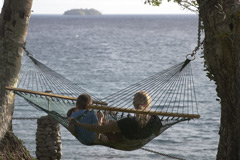 Relax at Nakia Resort & Dive, the best eco dive resort in the South Pacific on Trip Advisor.